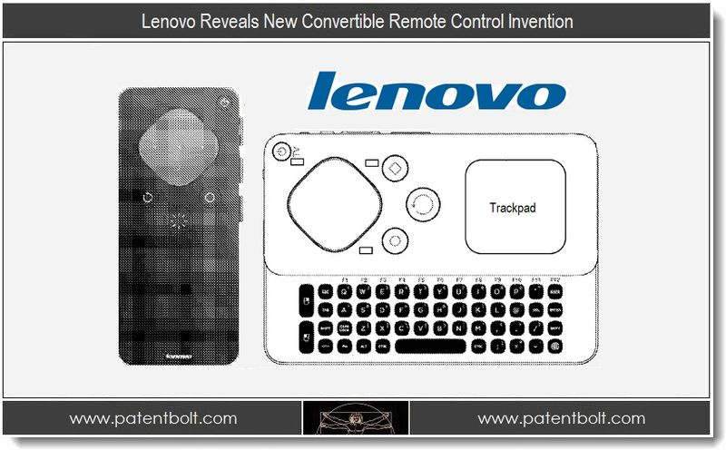 1. Lenovo Reveals New Convertible Control Invention