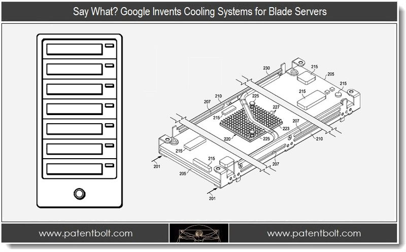 1. Say What - Google invents Cooling Systems for Blade Servers