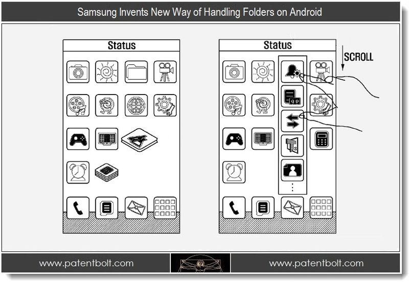 1 - Samsung Invents New Way of Handling Folders on Android