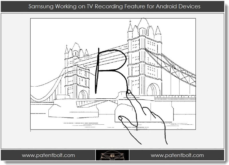 1. Samsung Working on TV Recording Feature for Android Devices