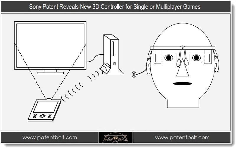 1 - Sony Patent Reveals New 3D Controller for Single or Multiplayer Games