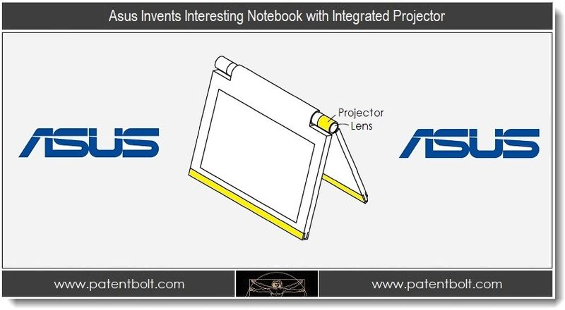 1. Asus Invents Interesting Notebook with Integrated Projector