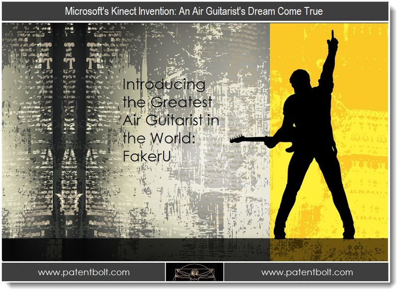 1. b Microsoft's Kinect Invention - An Air Guitarist's Dream Come True