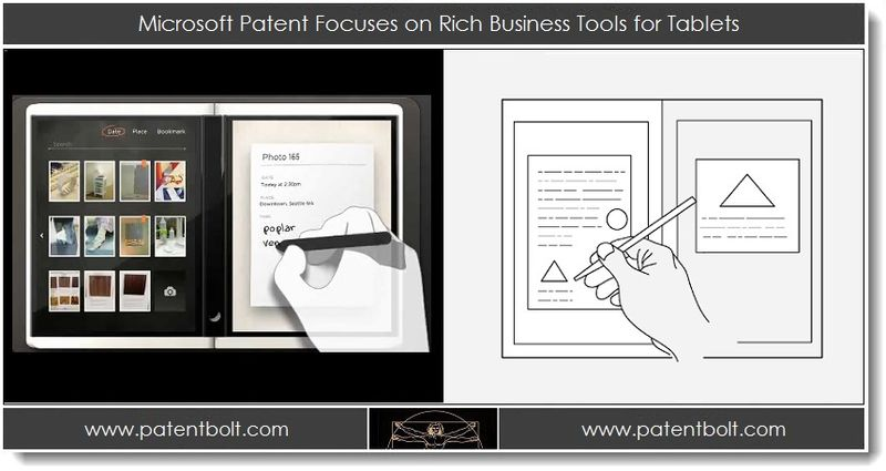 1. Microsoft Patent Focuses on Rich Business Tools for Tablets