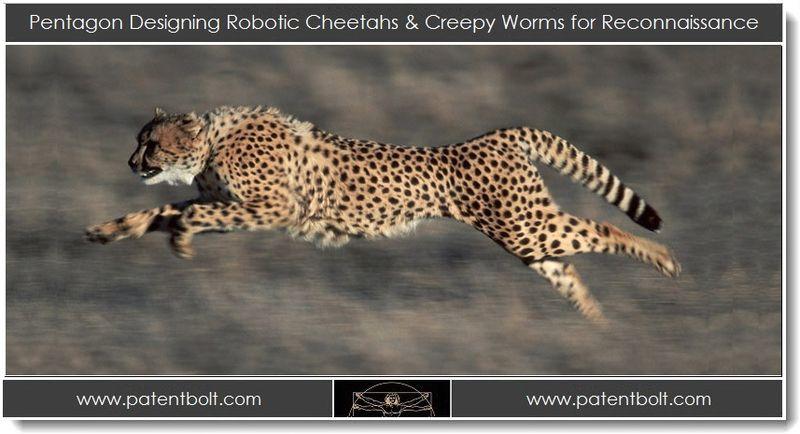 1. Pentagon Designing Robotic Cheetahs & Creepy Worms for Reconnaissance
