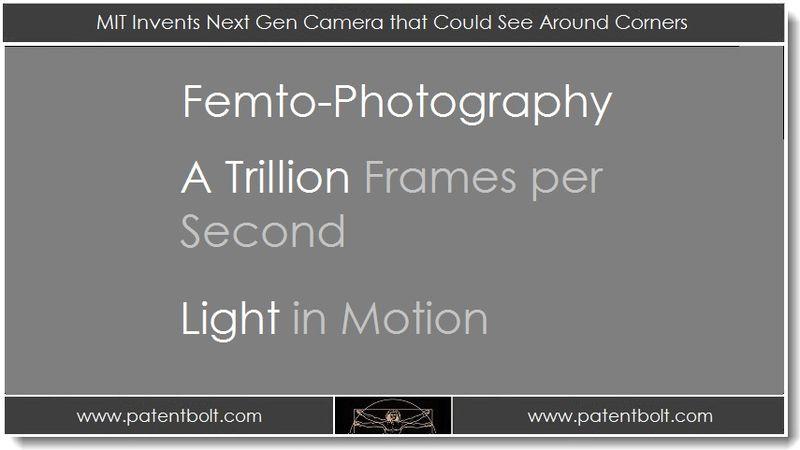 1. MIT Invents Next Gen Camera that Could See Around Corners