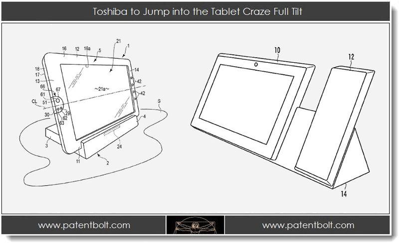 1, Toshiba to Jump into the Tablet Craze Full Tilt