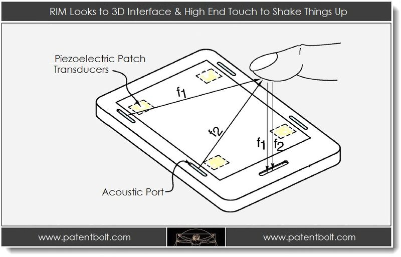 1. RIM Looks to 3D Interface & High End Touch to Shake Things Up