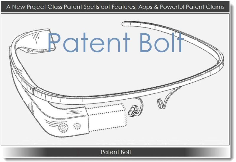 1. A New Project Glass Patent Spells out Features, Apps & Powerful patent Claims