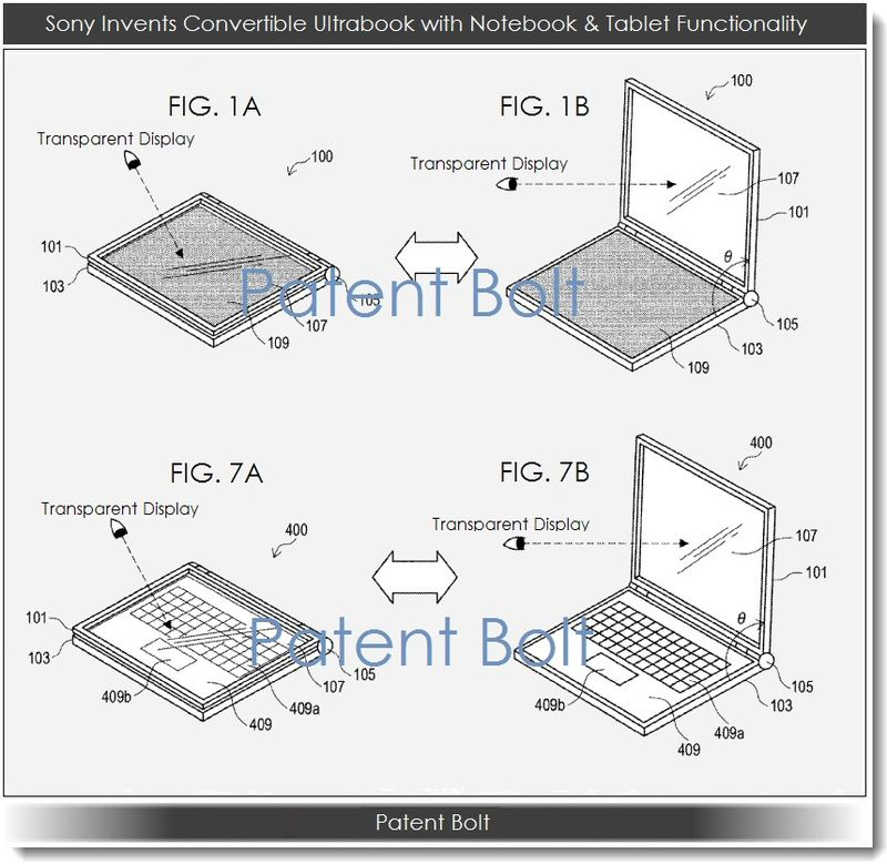 2. Sony Invents new Ultrabook Convertible with Notebook & Tablet Functionality