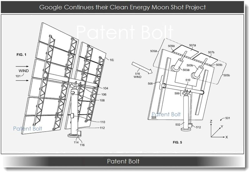 Cover graphic - Google continues their clean energy moon shot project