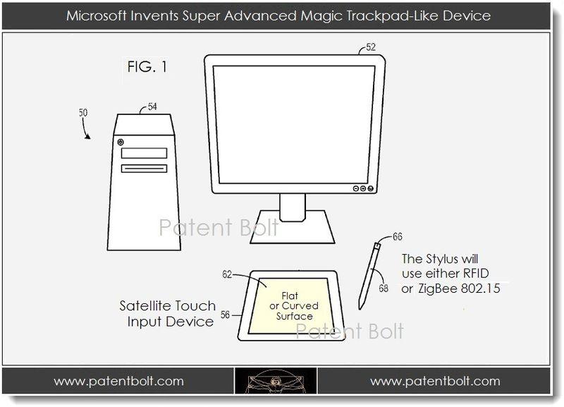 2. Microsoft Invents Super Advanced Magic Trackpad-Like Device