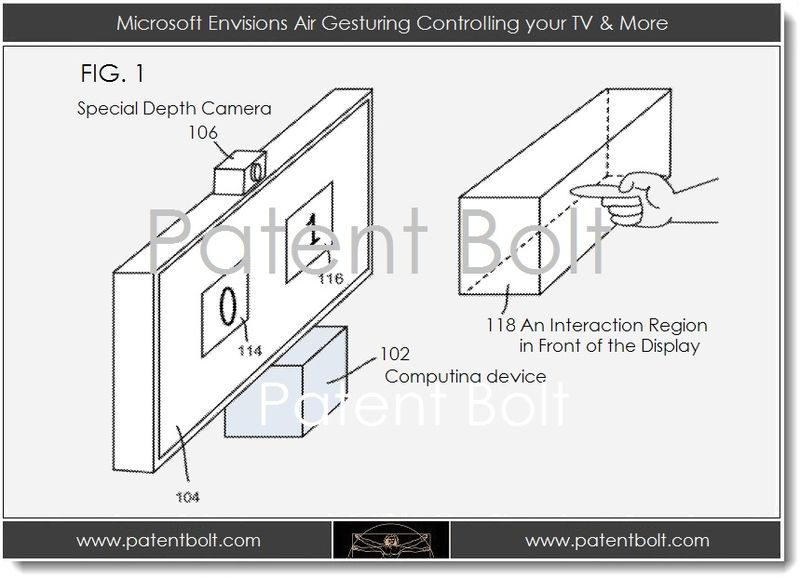 1. Microsoft envisions ari gesturing controlling your TV & more