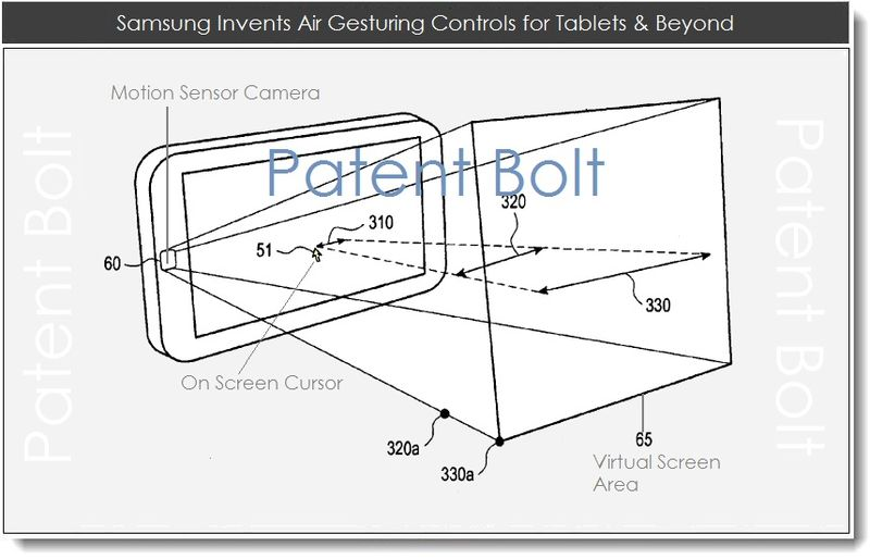 1.5 Samsung Invents Air Gesturing Controls for Tablets & Beyond
