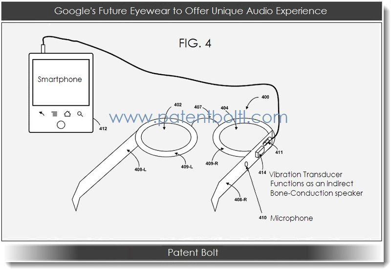 1A. Google's Future Computerized Eyewear will Have Built-In Audio