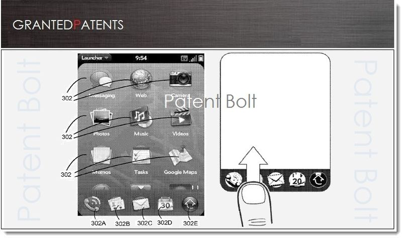 1B PB Version 2 - Cover HP WebOS Granted Patent Feb 2013
