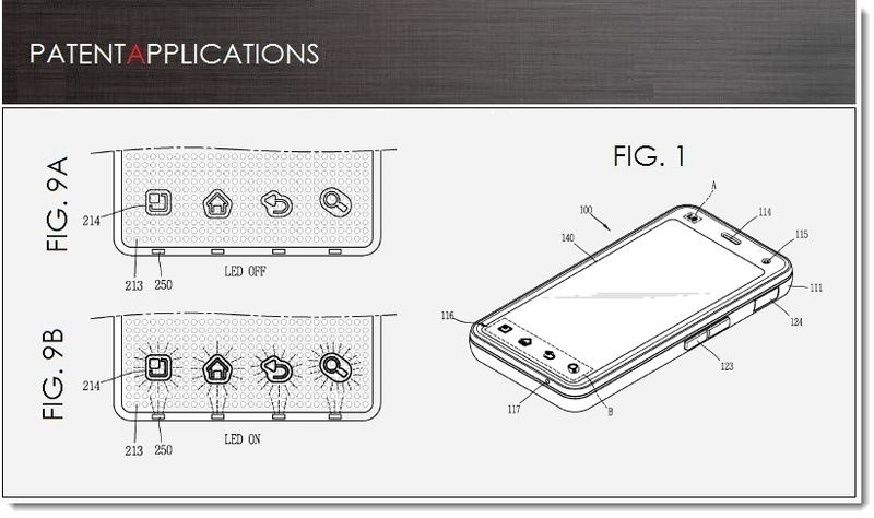 1. LG Patent on 3D elements with or without cool LED lighting