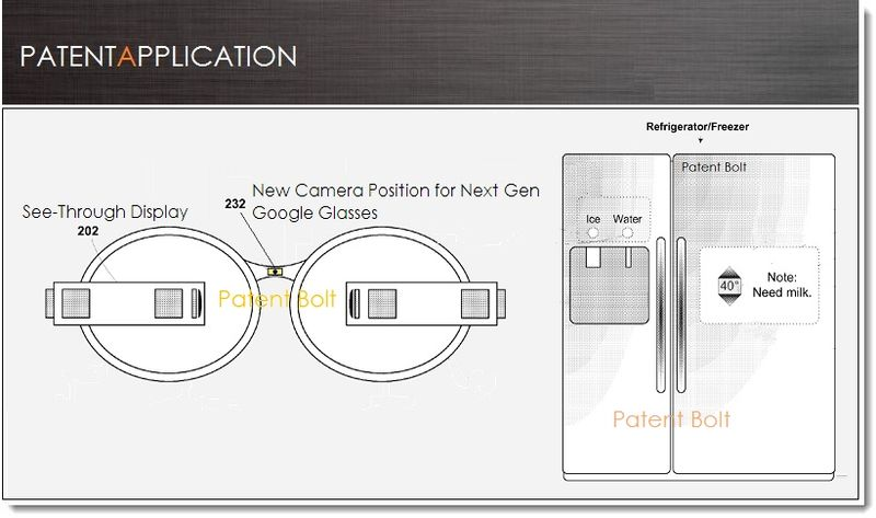 1. Cover, Google Glass Patent Mar 21, 2013
