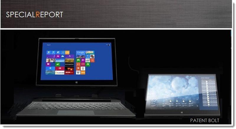 1. PATENT BOLT - IDF BEJING 2013 2 FOR 1 COMPUTER DEAL
