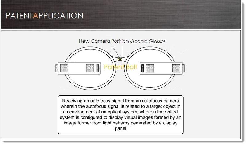 1. Cover, Google Glass Patent - Autofocus Camera