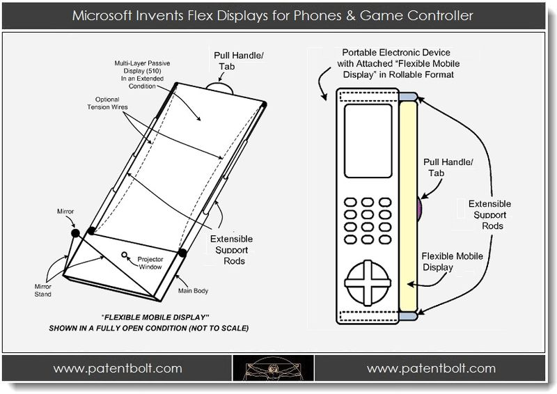 1. Microsoft Invents Flex Displays for Phones & Game Controller