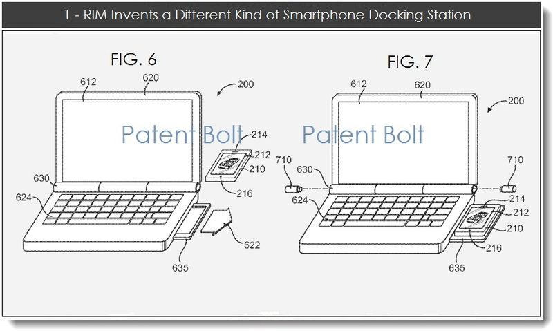 2 - 1 RIM Invents a Different Kind of Smartphonen Docking Station
