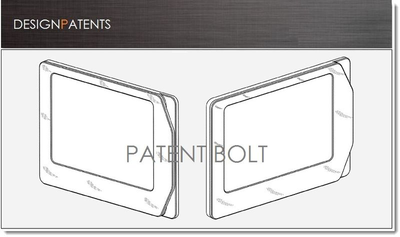 1a COVER - Google credit card reader enclosed in tablet - design patent