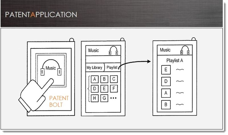 1. Cover, Google Music Streaming Service Patent