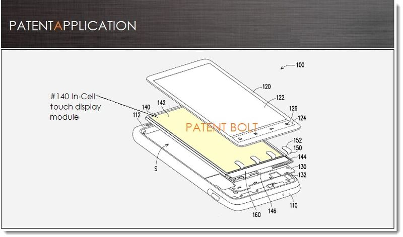 1. Cover, HTC IN-CELL DISPLAY PATENT