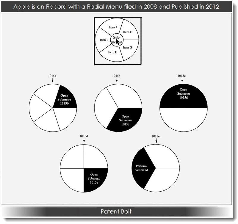 5. Apple - Radial Menu Patent