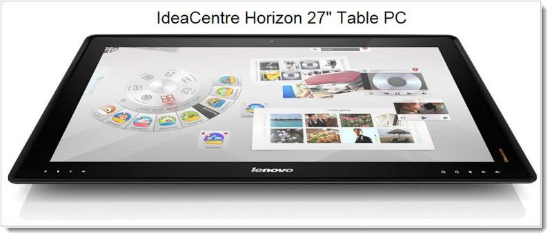 7. Lenovo IdeaCentre Radial UI