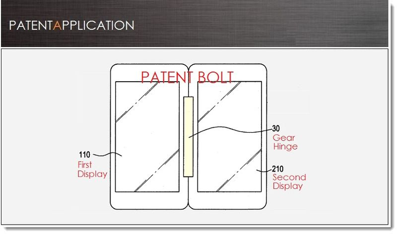 1. Cover - Samsung's Gear Hinge Device patent application July 2013