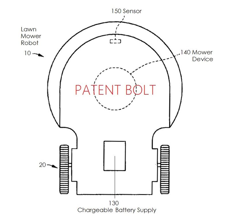 2AA - LG Patent Application for LAWN MOWER ROBOT DEVICE