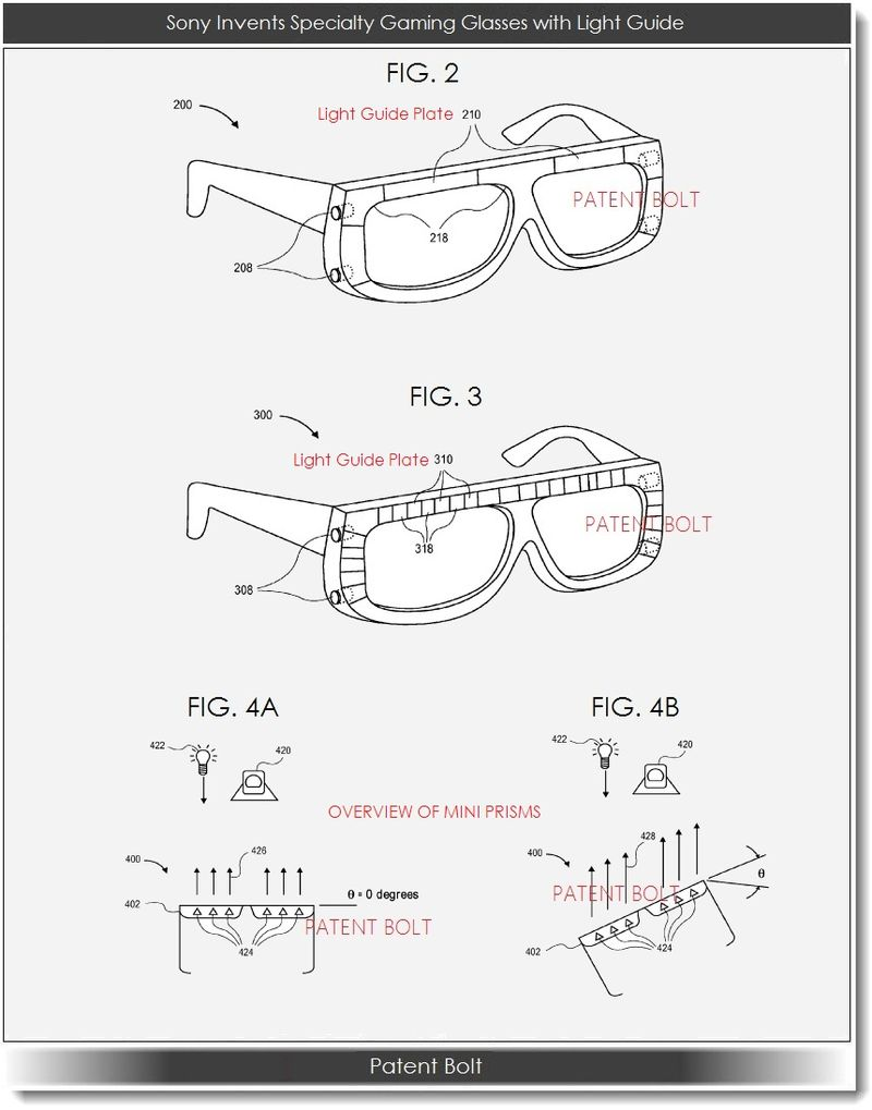 4. Sony's specialty gaming glasses
