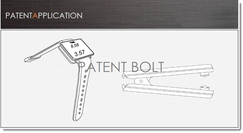 1. Cover, BlackBerry Patent application report on wearable computers and Hinges