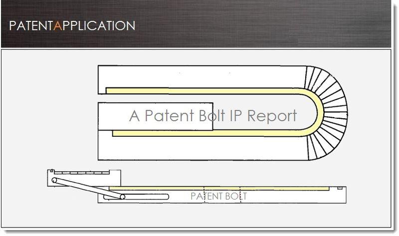 1. Cover - BlackBerry Flex display smartphone patent