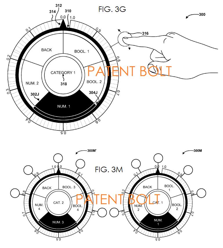 4. msft patent filing - radial dial UI