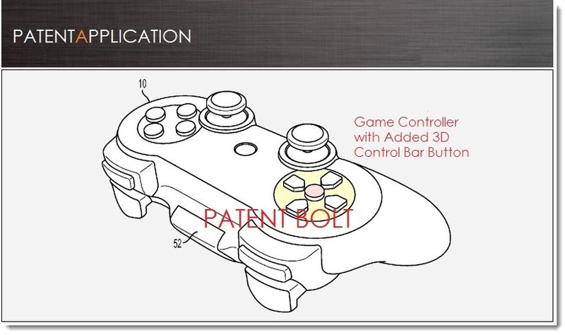 1 - Cover -Patent Bolt report - Sony PS alternative Controller with 3D controller button