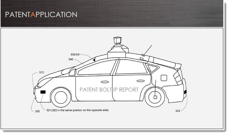 1. Cover - Google driveless vehicle related patent