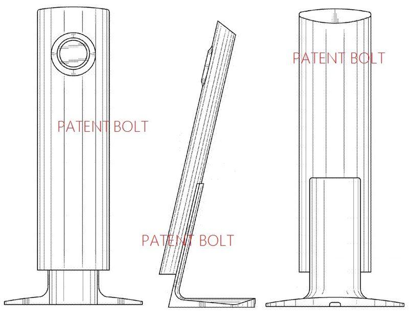 5. Samsung Granted a second speaker design patent