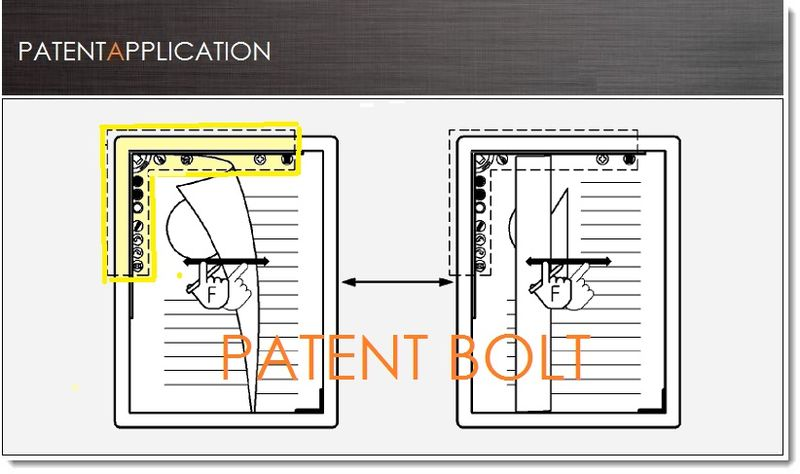 1. Cover - Samsung  Patent for an Expandable Menu UI Feature
