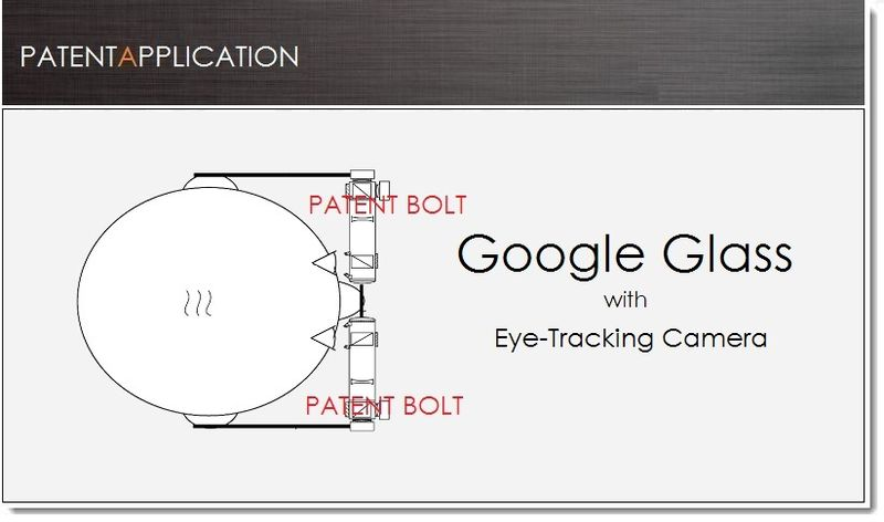1. Google Glass with head tracking patent