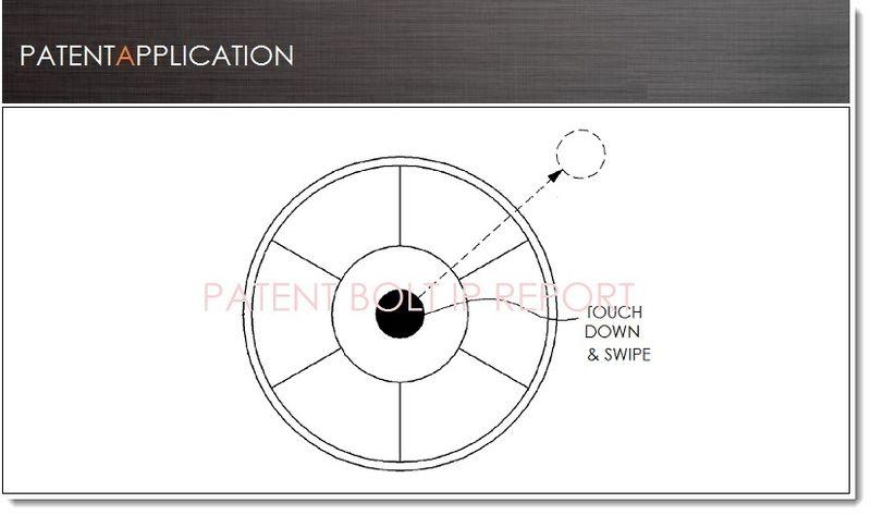 1. Cover - Samsung patent filing - Touch & Swipe UI Menu