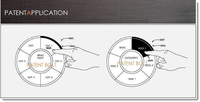 1. Cover, MSFT patent filing, radial menus