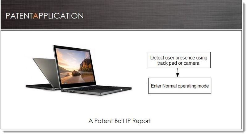 1. - Cover - Google Patent Filing for presence detection in future Chromebook Pixel
