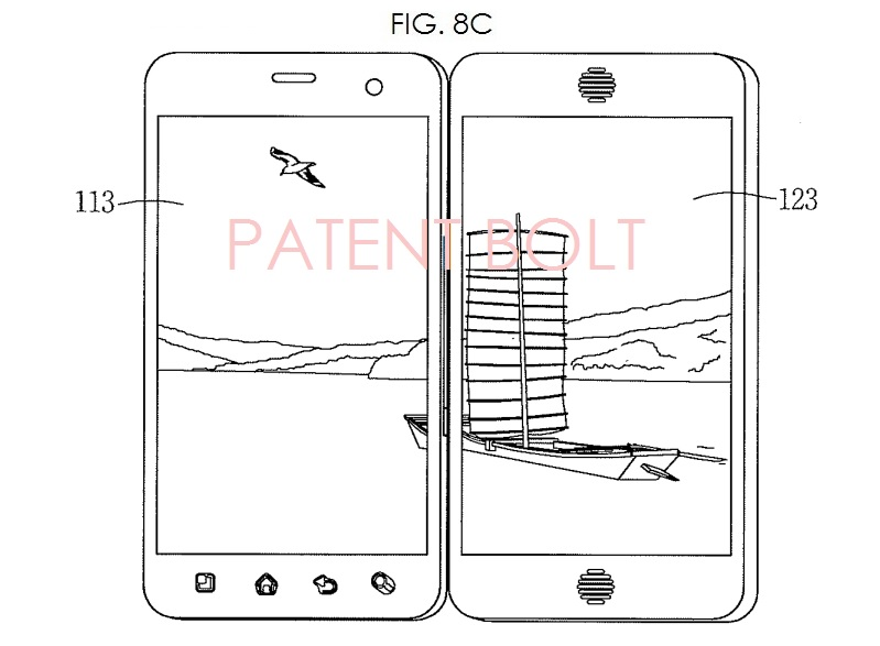 5. LG PATENT FOR DUAL DISPLAY SMARTPHONE FOR MOBILE TV
