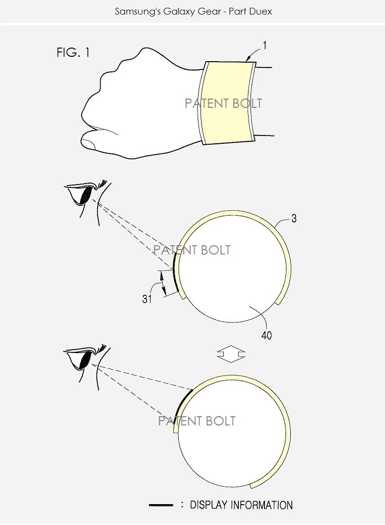 2. Samsung's Galaxy Gear - Part Duex - fig. 1