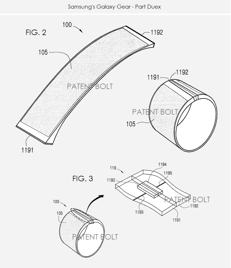 3. Samsung's Galaxy Gear - Part Duex - figs 2 & 3