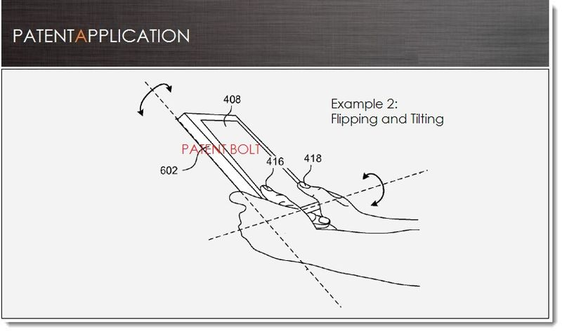 1. Cover - Msft seeks patent for multi-touch-movement gestures for tablets