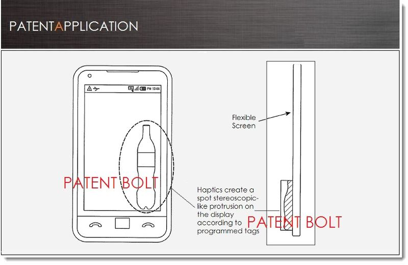 1. Cover - Samsung invents  a Flex Display with Floating Screen Structure